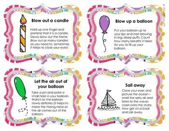 Social Skills Strategy Cards