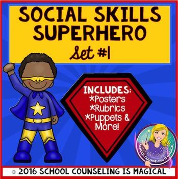 Social Skills Superhero: Set #1