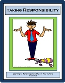 Social Skills, TAKING RESPONSIBILITY, Life Skills Lesson