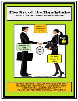 Social Skills, THE ART OF THE HANDSHAKE, Life Skills
