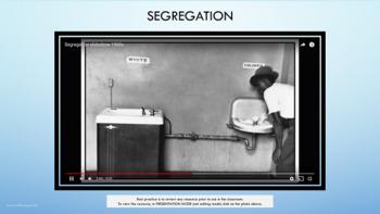 """Rosa Parks & """"White Socks Only"""" Lesson MLK 2 Video Segregation PBIS Character Ed"""