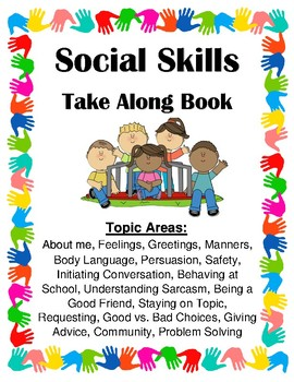 Social Skills Take Along Book