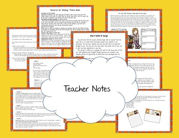 Classroom Community - Social Skills - Taming Our Worry Thoughts -- Grades 1-3