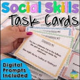 Social Skills Task Cards - Distance Learning and Google Classroom