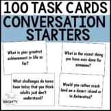 100 Conversation Starter Social Skills Task Cards | middle
