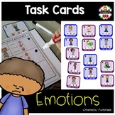 Emotions - Vocabulary  tasks (for students with Autism)