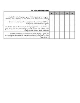 Social Skills Teacher Checklist - Emotional Regulation
