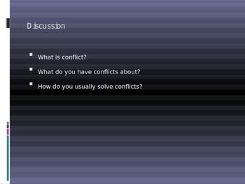 Social Skills: Teaching Conflict Resolution