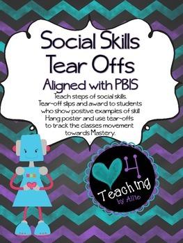 Social Skills Tear-off Posters