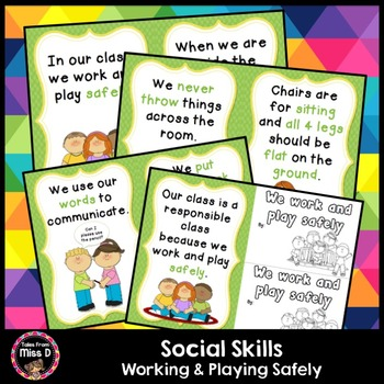 Social Skills Being Safe