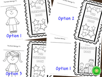 Social Skills Friendship Activity Worksheet