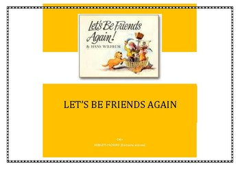 Social Skills Through Literature. 'Let's be friends again'