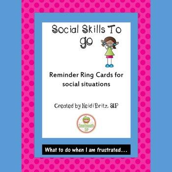 Social Skills: Frustration