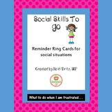 Social Skills  Emotional Regulation Strategies