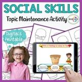 Topic Maintenance Speech Therapy & Autism | Social Skills