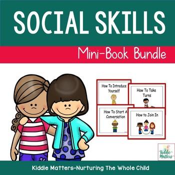 Social Skills Training Mini Book Bundle Set 1