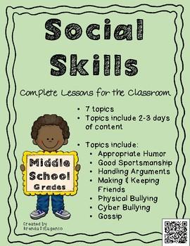 Social Skills Unit