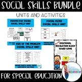 Social Skills Units Bundle   Social Emotional Learning
