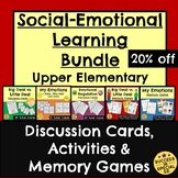 Social Skills Upper Elementary Discussion Cards Games Acti