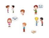 Social Skills Visuals, handshake eye contact