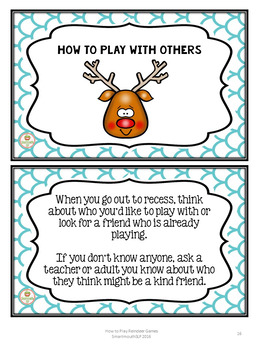 Social Skills:  Winter Playing with others