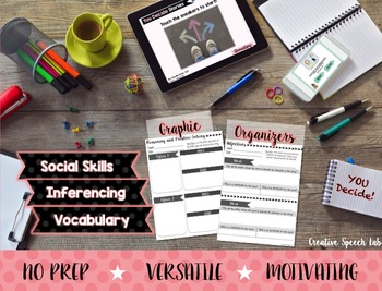 You Decide Stories for Language and Social Skills - Elementary