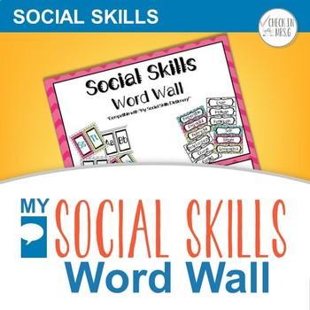 Social Skills Word Wall