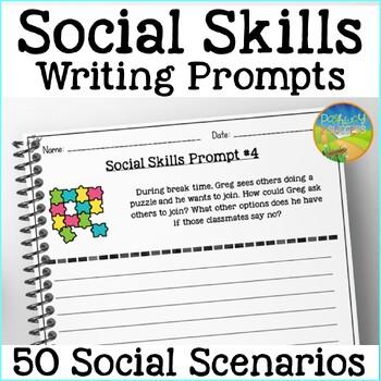 Social Skills Writing Prompts