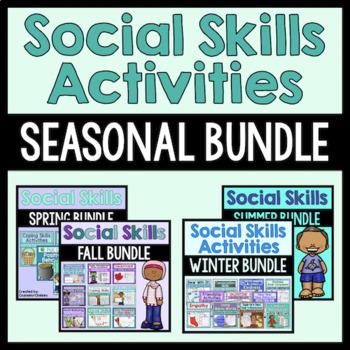 Social Skills Seasonal Actvities Bundle