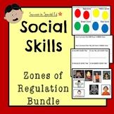 Social Skills - Zones of Regulation Worksheets