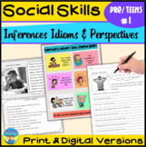 Social Skills Activities- Size of the Problem for Teens 1