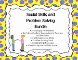 Social Skills and Problem Solving Bundle: save 30%