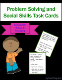Problem Solving and Social Skills Task Cards: Community, H