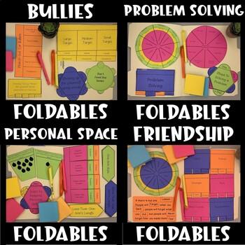 Social Skills and Study Skills Interactive Notebook Foldable BUNDLE