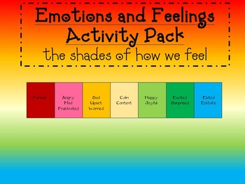 Social Skills -Feelings and Emotions-How I Feel?