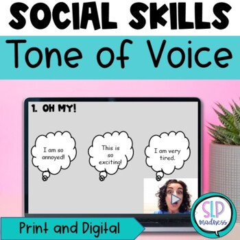 Social Skills and Thinking about Perspective Taking & Tone