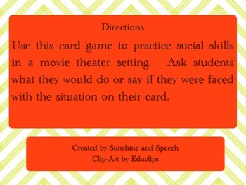 Social Skills at the Movies