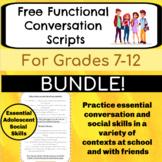 Conversation Skills for Middle & High School BUNDLE - Social Skills for Teens
