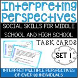 Perspective Taking Scenarios - Social Skills for Middle School & High School