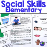 Social Skills for Elementary Facial Expressions Photos Speech Therapy