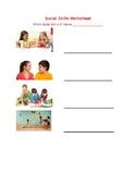 Social Skills for Low Verbal Autism Worksheet