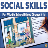 Social Skills for Middle School Mixed Groups L