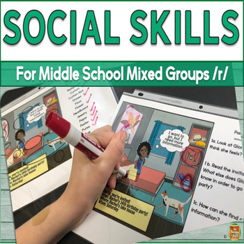 Social Skills for Middle School Mixed Groups R