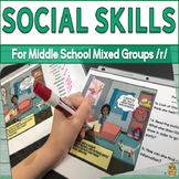 Social Skills for Middle School Mixed Groups: 'R'