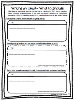 Social Skills for Middle School and High School Texting Emails Phone Calls
