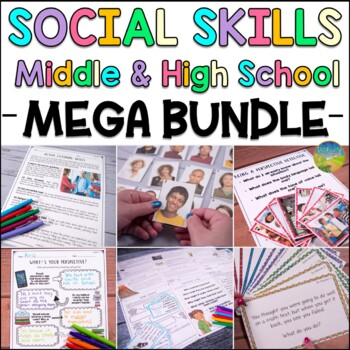 Social Skills for Middle and High School MEGA BUNDLE - Distance Learning