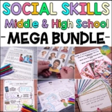 Social Skills for Middle and High School MEGA BUNDLE | Lessons & Activities