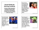 Social Skills for Solving Conflicts