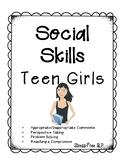 Social Skills for Teen Girls