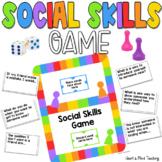 Social Skills game; making friends, self reflection, social emotional learning